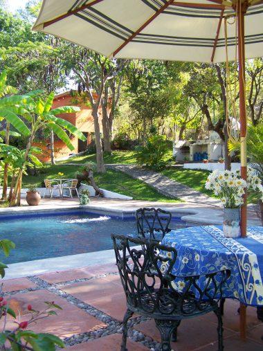 Hotel Casa de las Flores en Xochicalco