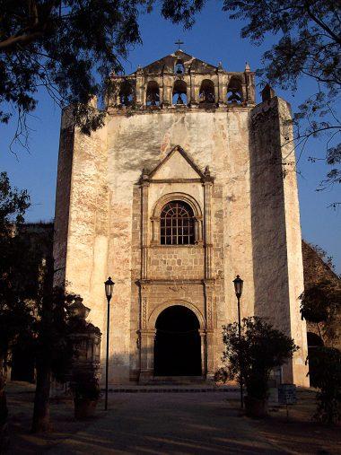 Convento de San Juan Bautista en Tlayacapan