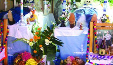 Ofrenda Dia de Muertos Ocotepec