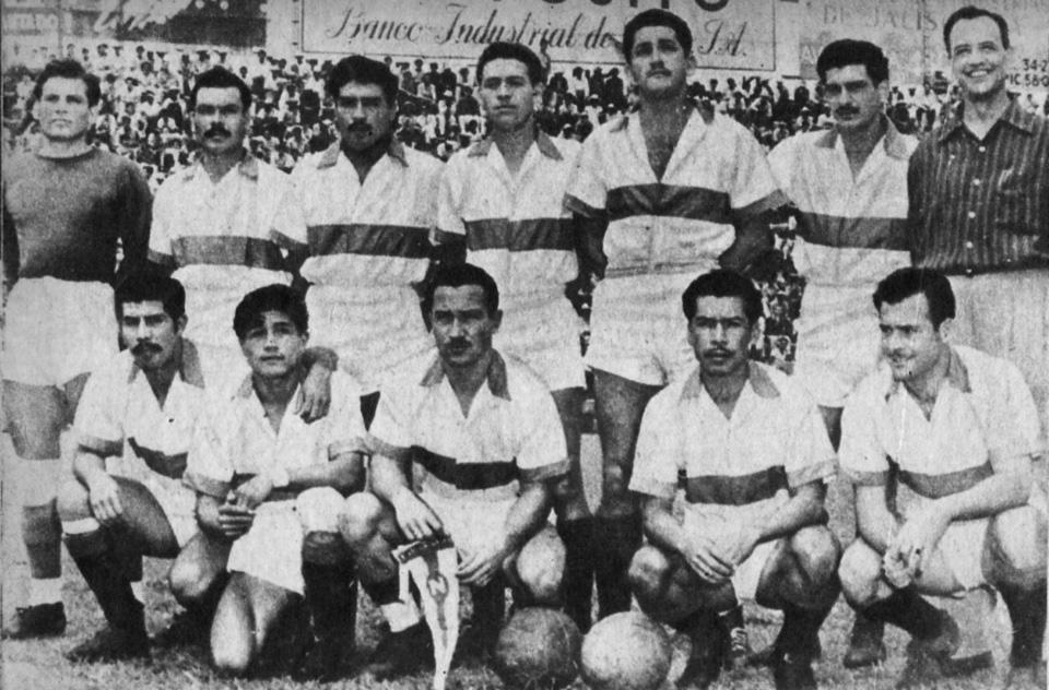 Club Zacatepec decada de los 50s