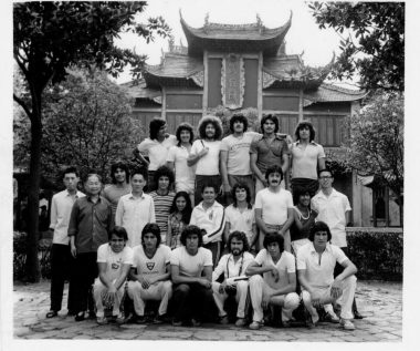 Club Zacatepec en su gira por China en 1978