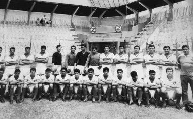 Foto oficial del Equipo Zacatepec que participó en la temporada 1966-67, en Segunda División.