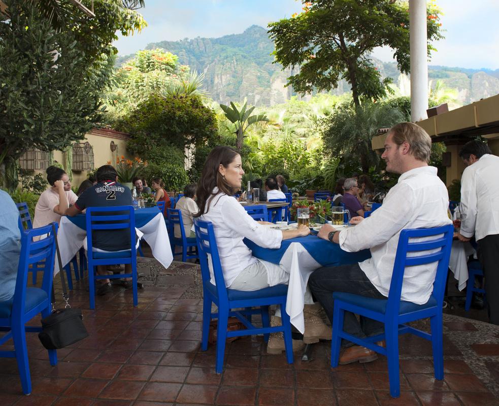 Restaurante El Ciruelo, Tepoztlán