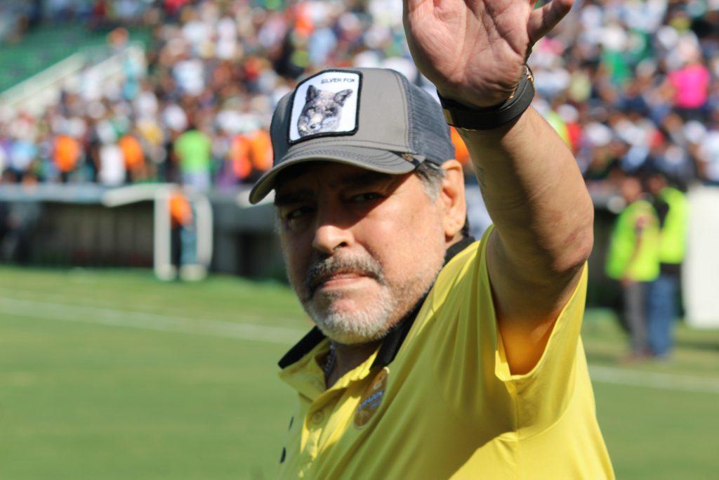 Maradona en Zacatepec