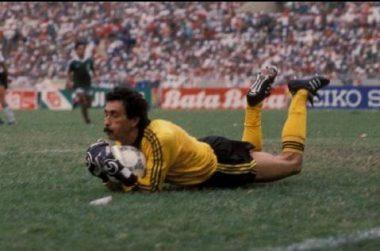 Pablo Larios en el mundial de México 86