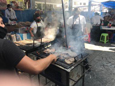 Tianguis de comida de Progreso en Jiutepec